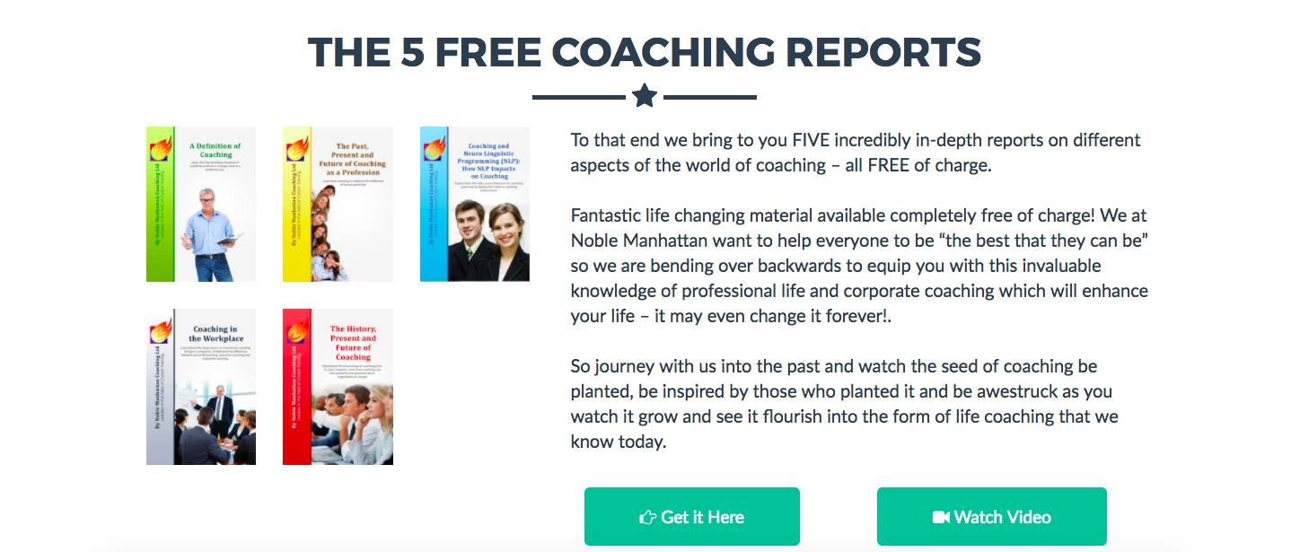 Coaching Report Download